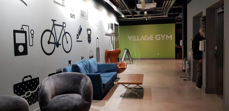 gym entrance village hotel basingstoke