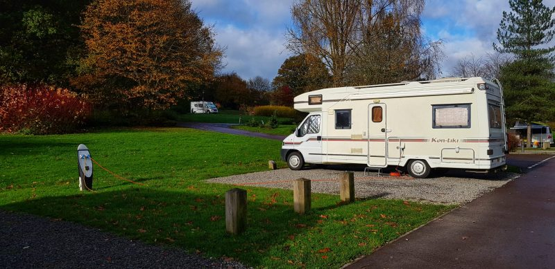 Whitemead Forest Park Motorhome Paul and Carole