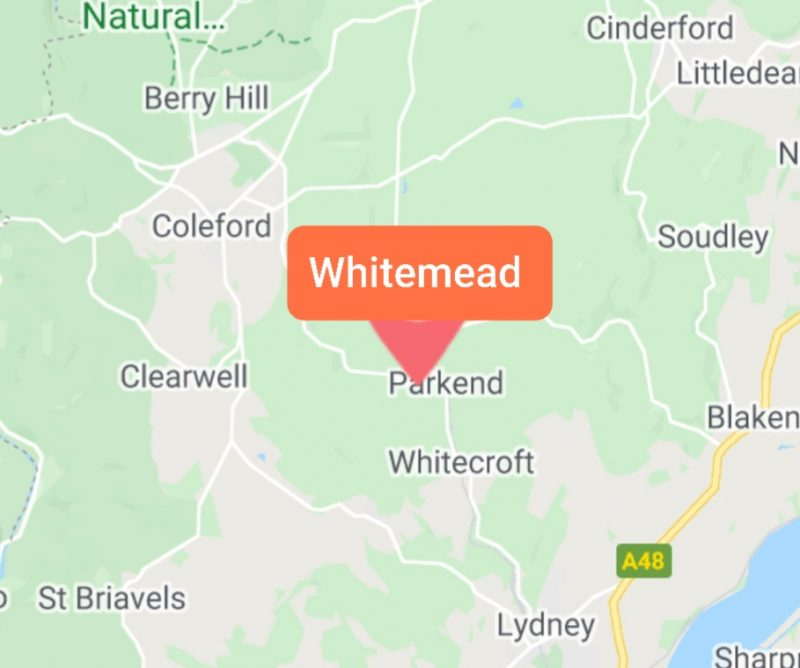 Whitemead Forest Park Map Gloucestershire
