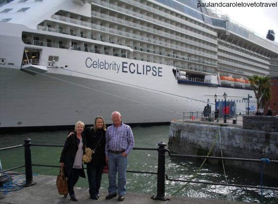 cobh Ireland celebrity eclipse British isles cruise
