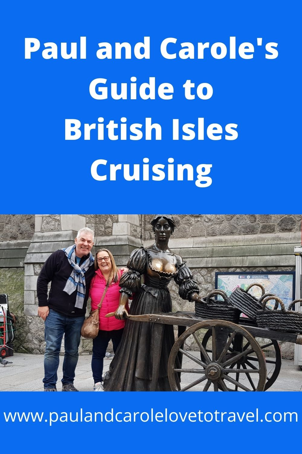 Paul and Carole's Guide to British Isles Cruising pin