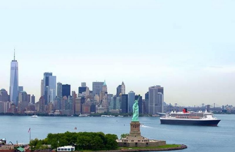 Queen Mary 2 New York transtlantic