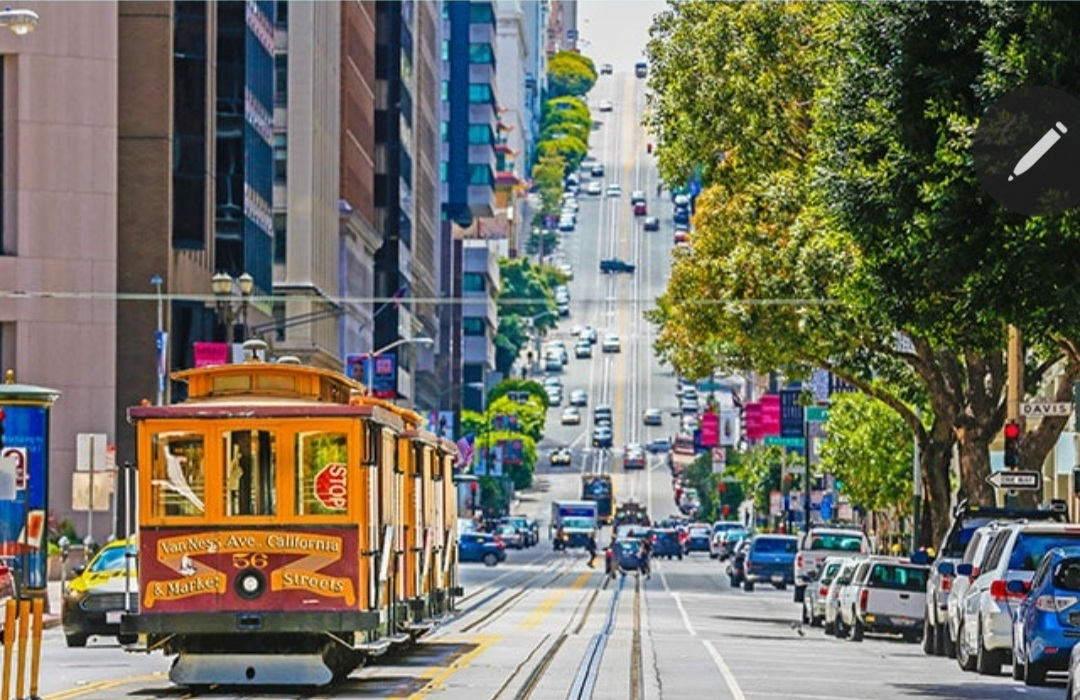 San Fransisco street car Princess Cruises