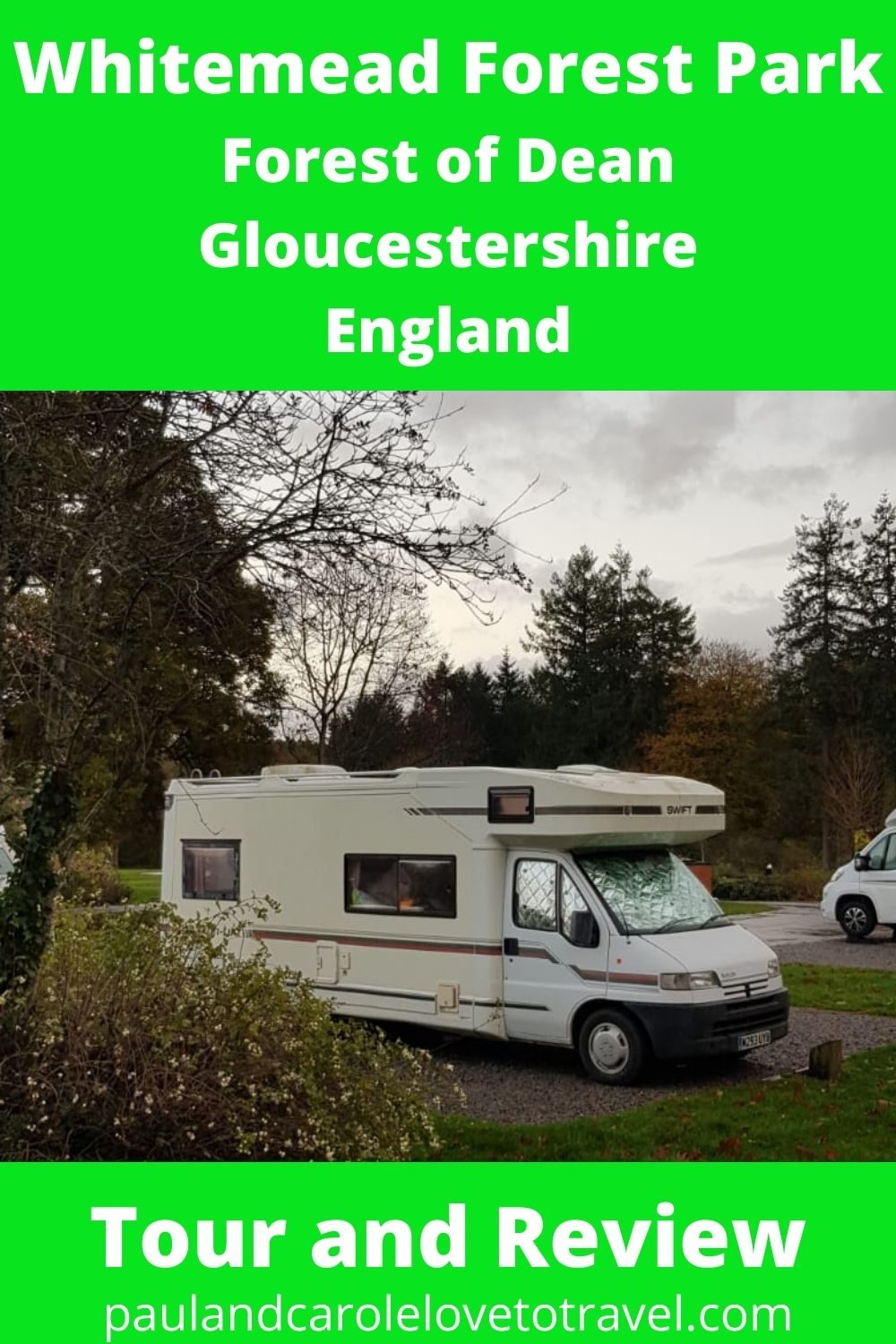 Pin Whitemead Forest Park Review Forestof Dean Gloucestershire