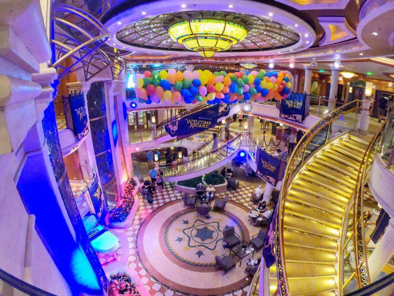 atrium regal princess cruises ship