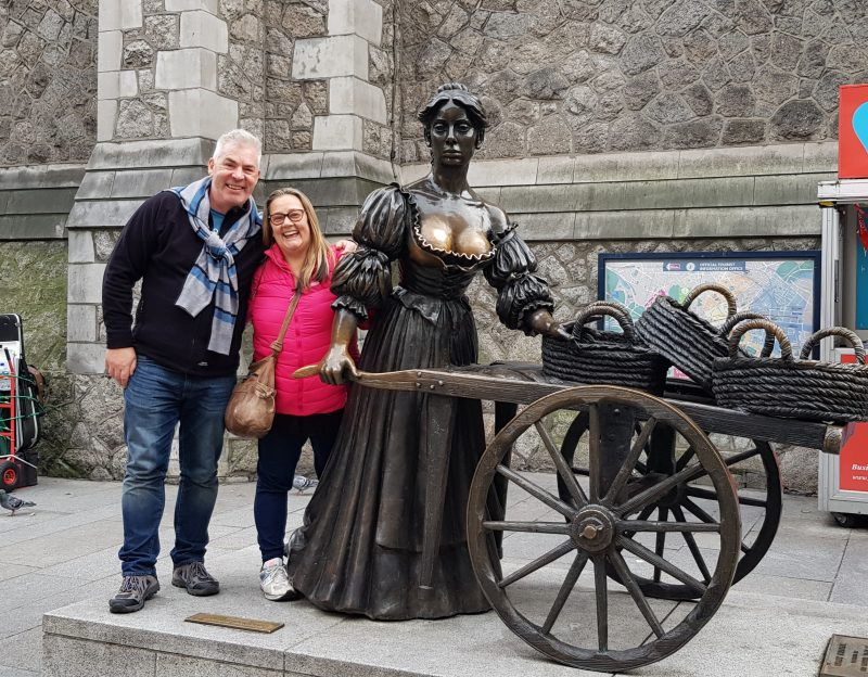 Molly Malone Dublin British isles cruise