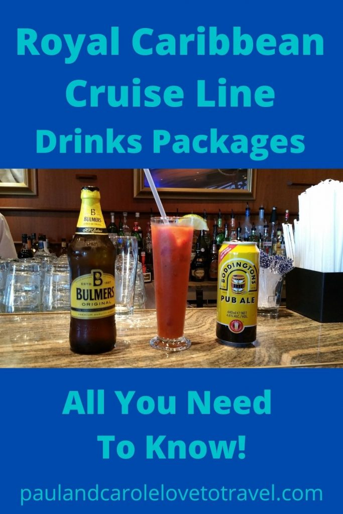 Royal Caribbean Drinks Packages