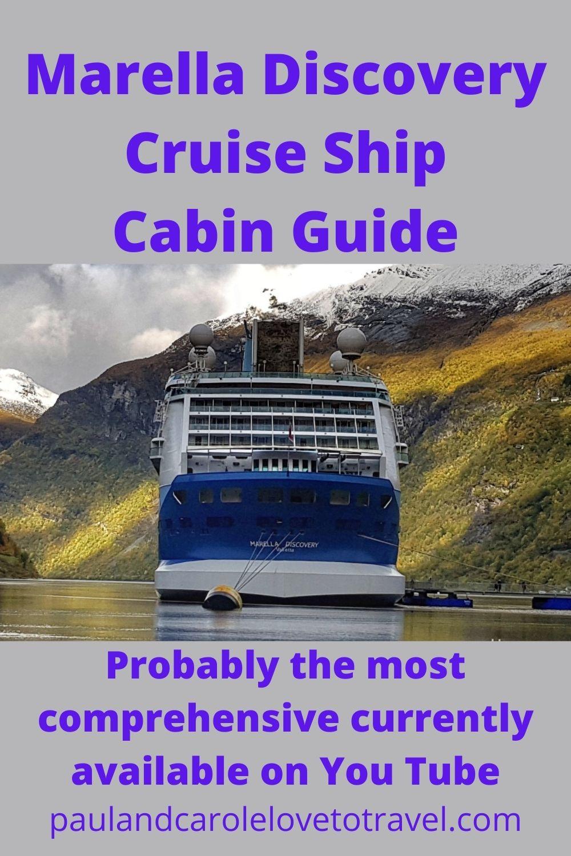 Marella Discovery Cruise Ship Cabin Guide Paul and Carole