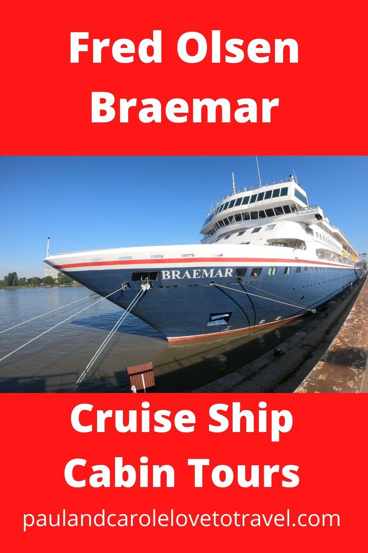 Fred Olsen Braemar Cruise Ship Cabin Tours