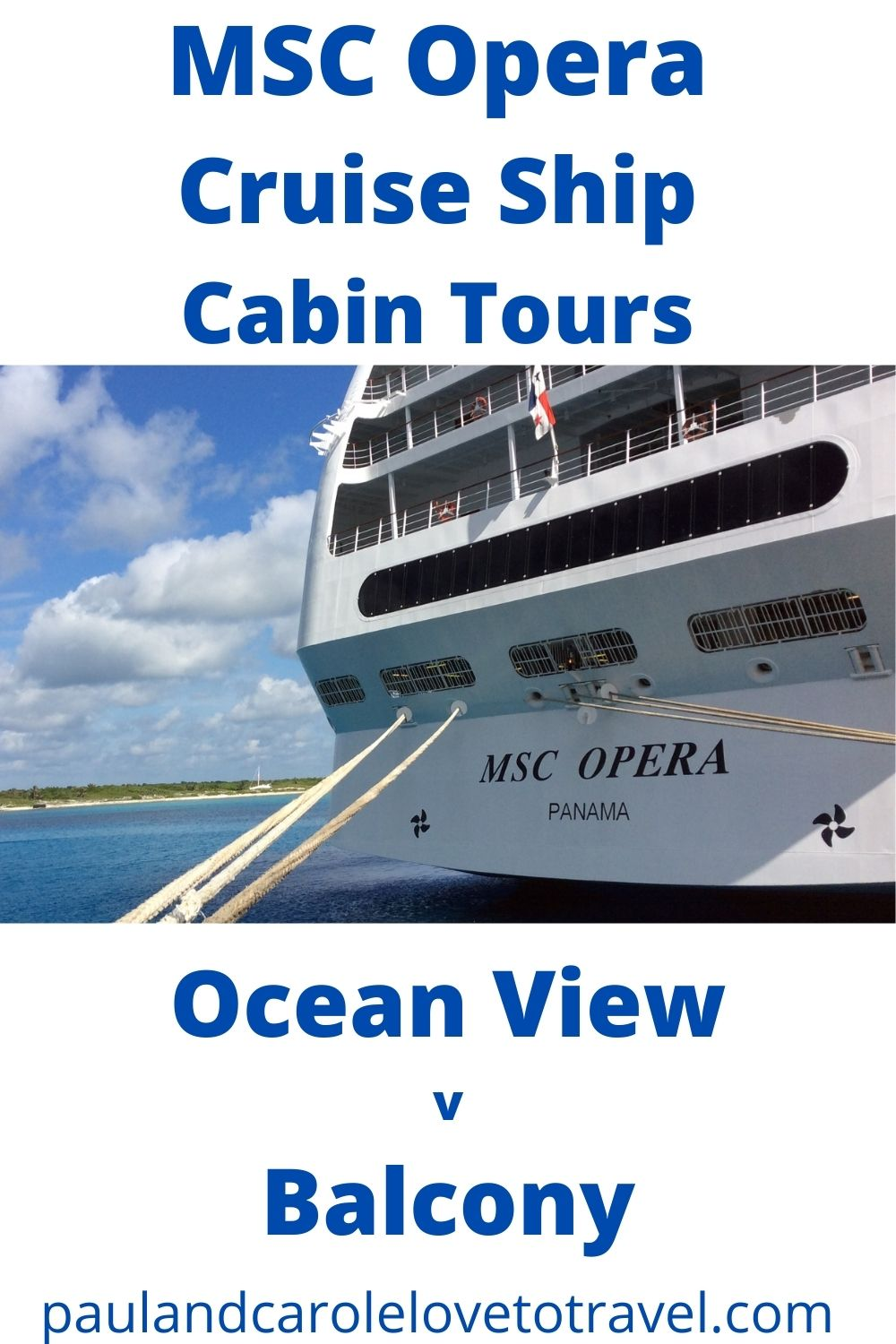 msc opera cruise ship cabins balcony versus Oceanview