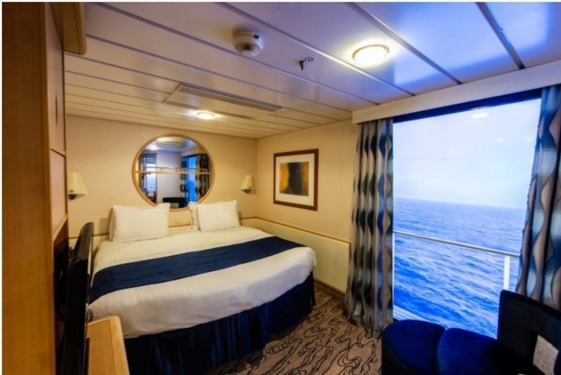 photo credit royal caribbean cruise virtual balcony cabin