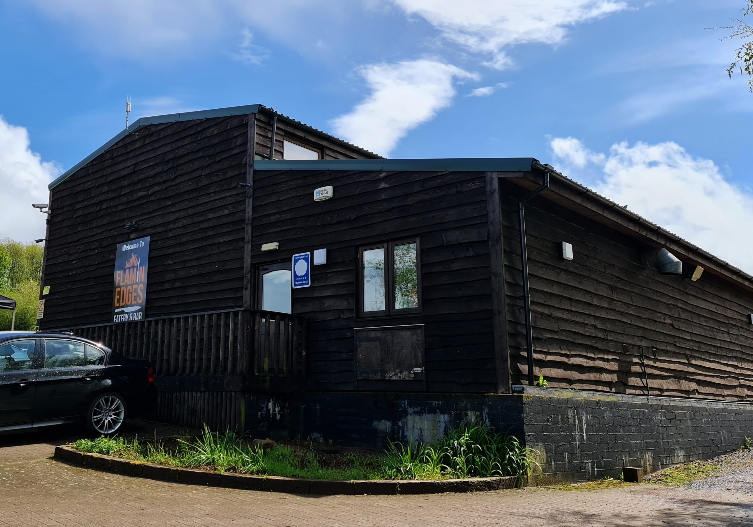 Flamin Edges Eatery and Bar Greenway campsite