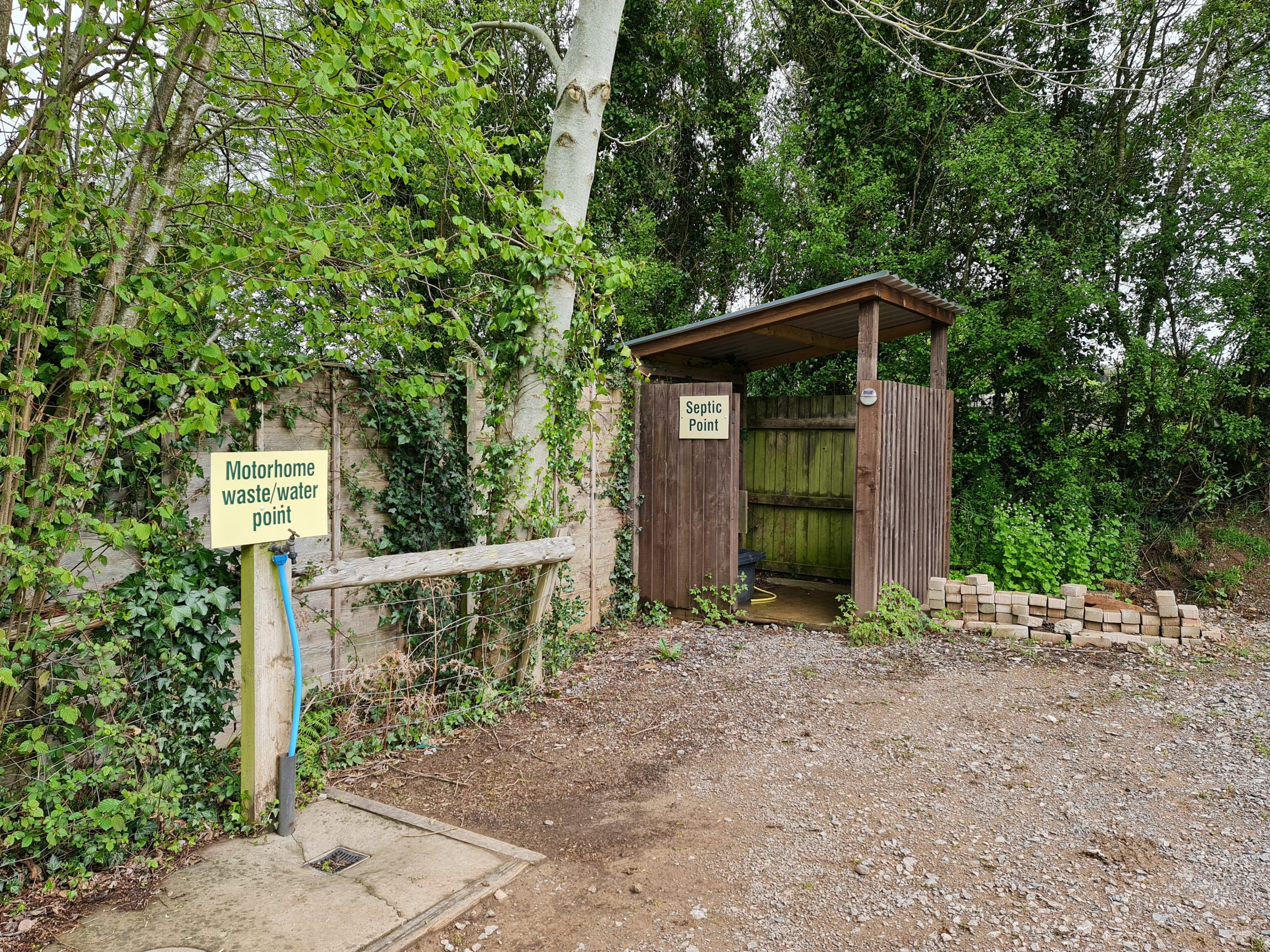 Facilities at Greenway Farm Campsite