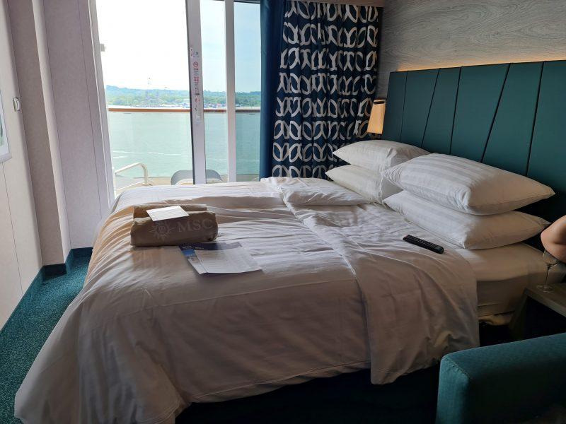 MSC Virtuosa cruise ship Balcony Cabin Bella
