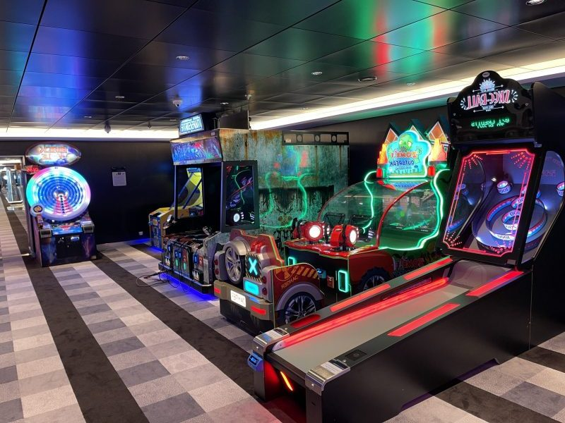 Arcade games sportsplex MSC Virtuosa