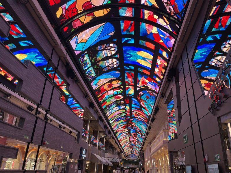 LED Dome Galleria Virtuosa cruis ship