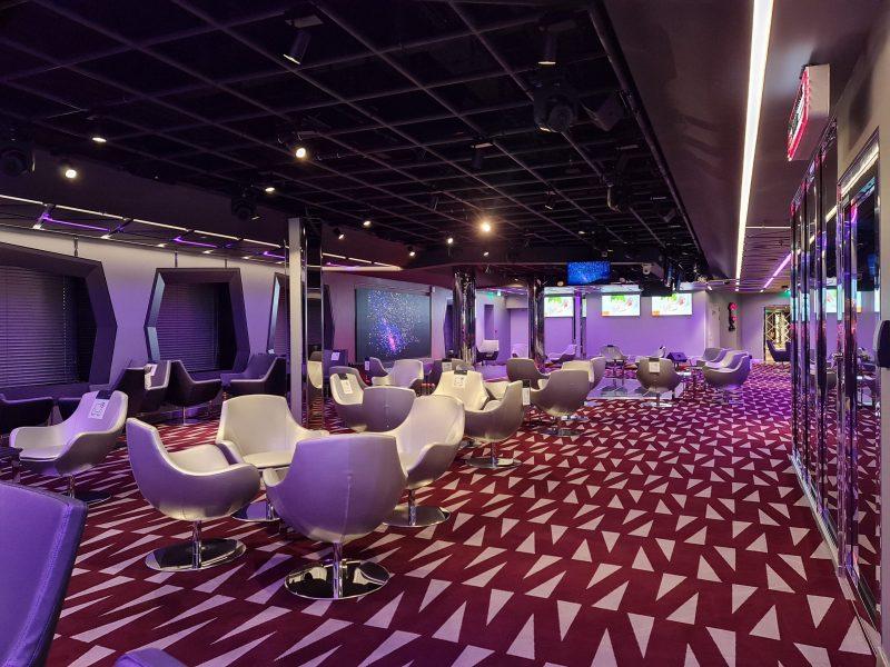 TV Studio Lounge MSC Virtuosa Cruise Ship