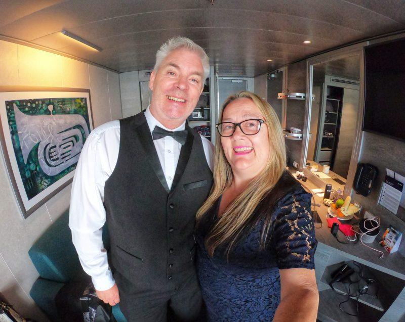 Elegant night Paul and Carole Love to Travel MSC Virtuosa Cruise Ship review