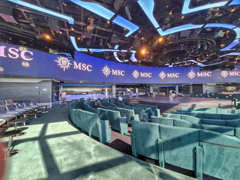 Carousal Lounge MSC Virtuosa Cruise Line