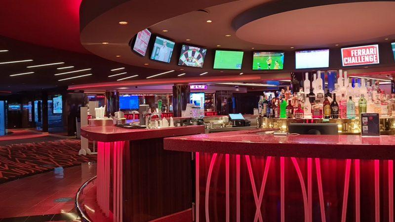 Red Gem Casino Bar MSC Virtuosa Cruise ship review