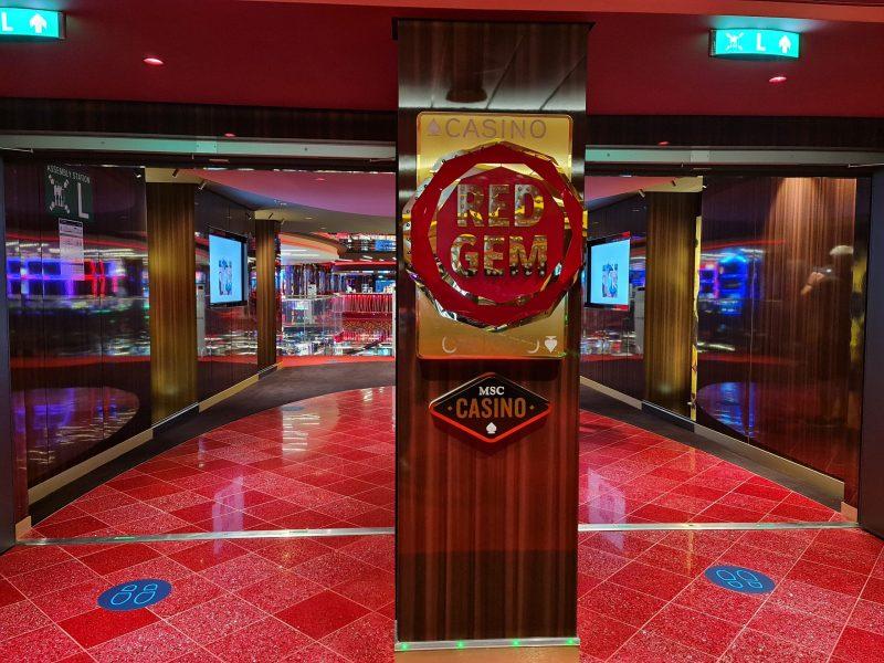 Red Gem Casino MSC Virtuosa Cruise ship review