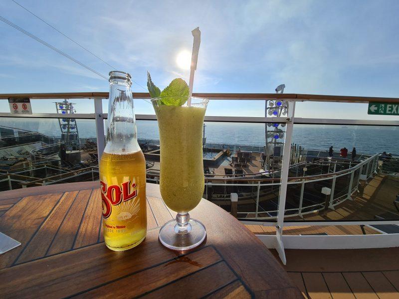 Horizon Bar Cocktails MSC Virtuosa Cruise Ship
