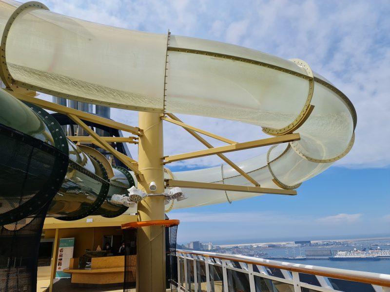 Aqua park water MSC Virtuosa Cruise Ship review