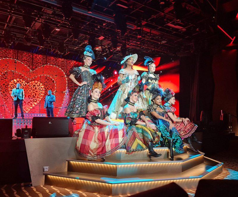 Theatre show MSC Virtuosa Cruise Ship