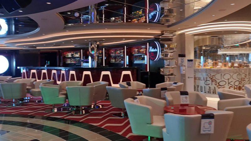 Virtuosa Lounge MSC Virtuosa Cruise Ship