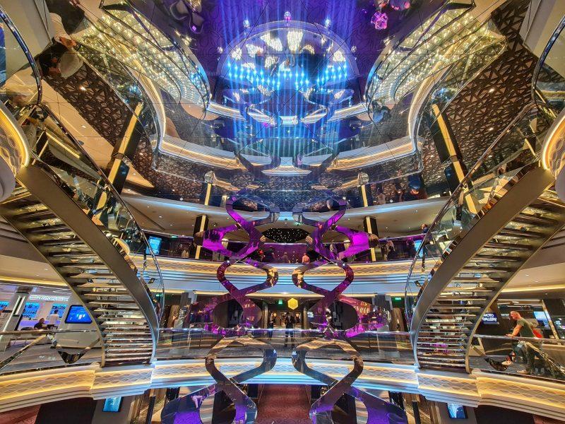 Atrium MSC Virtuosa Cruise Ship Review