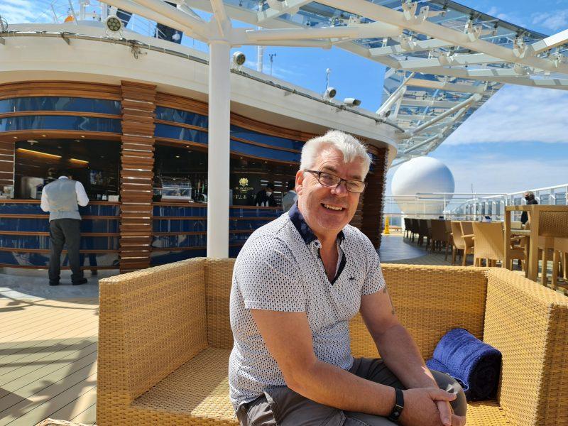 Yacht club sun deck MSC Virtuosa