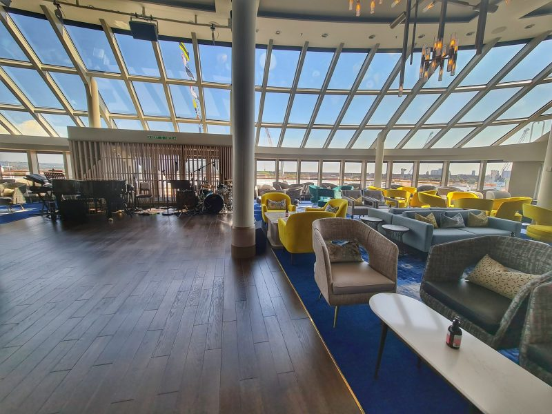 Spirit of Adventure Cruise Ship Saga Britannia Lounge