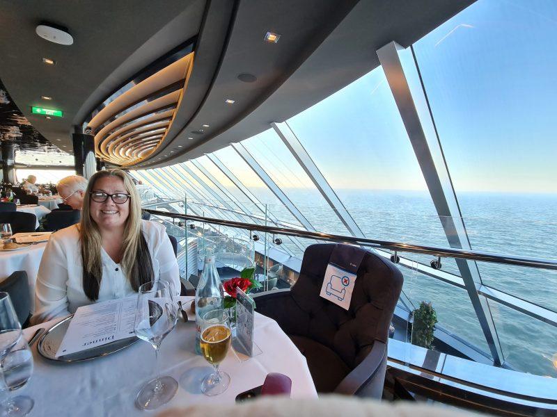 Yacht Club Dinner MSC Virtuosa Cruise Ship Review