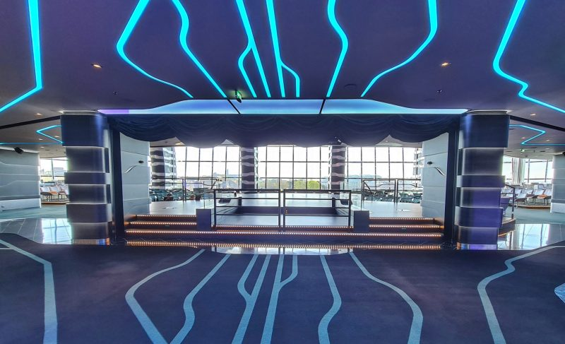 carousal entrance MSC Virtuosa Cruise Ship