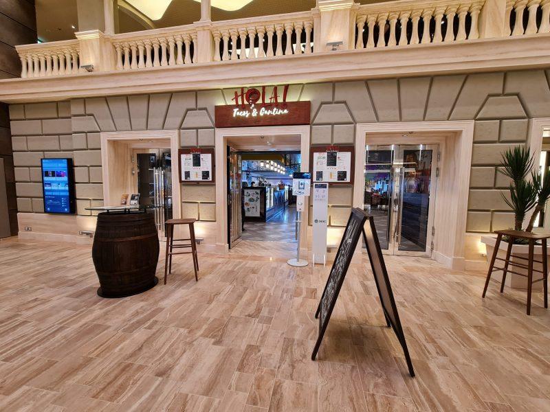 Hola Speciality Restaurant Galleria Virtuosa MSC Cruises