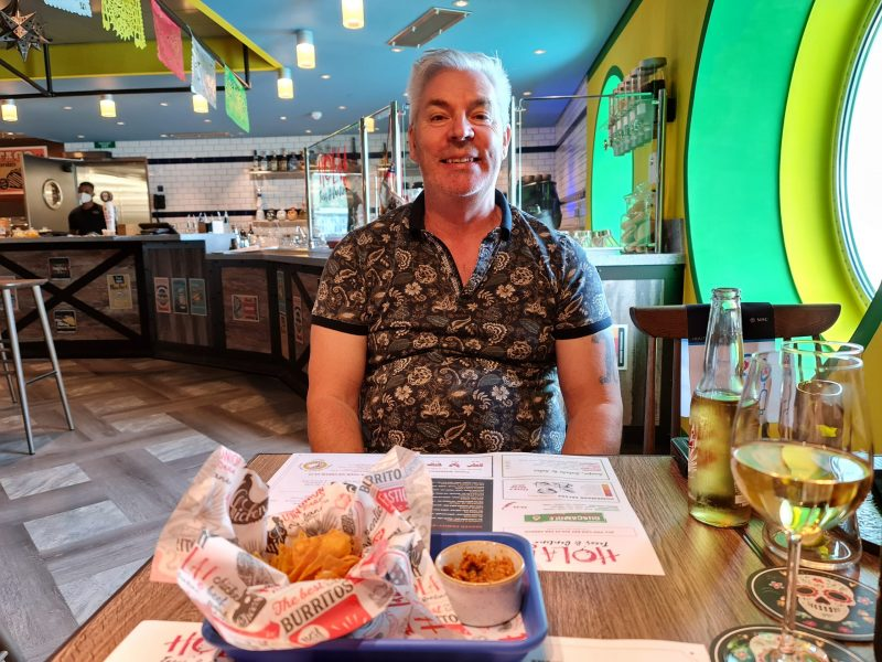 Paul in Hola Speciality Restaurant Galleria Virtuosa MSC Cruises