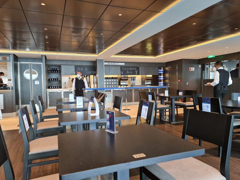 Market place buffet restaurant MSC Virtuosa Cruise Ship