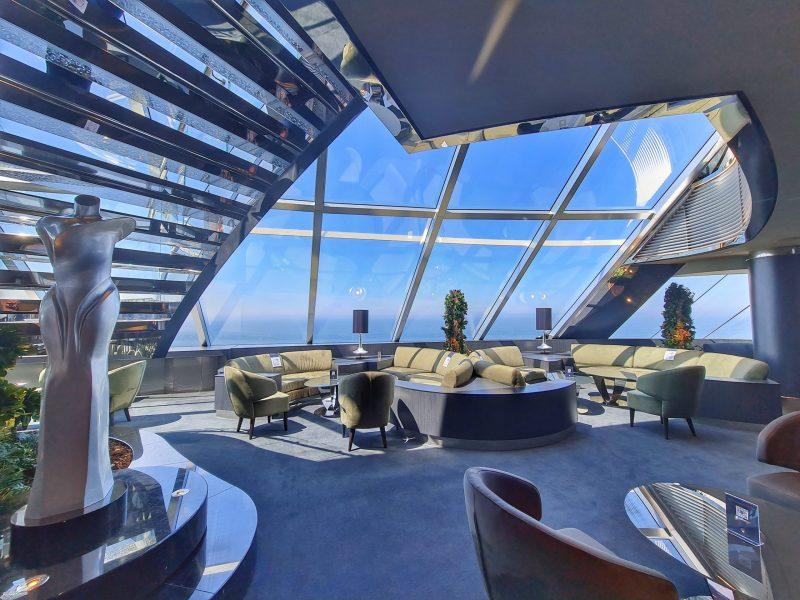 Top sail loungeYacht Club MSC Virtuosa Cruise Ship Review
