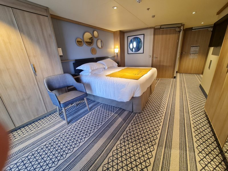 P&O Iona Accessible Balcony Cabin 12514 Review Deck 12