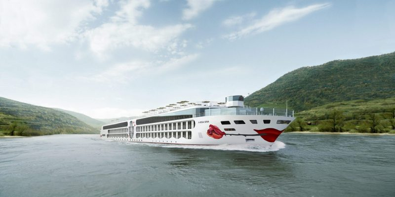 A-ROSA Names New eco-friendly River Cruise Ship - A-ROSA SENA