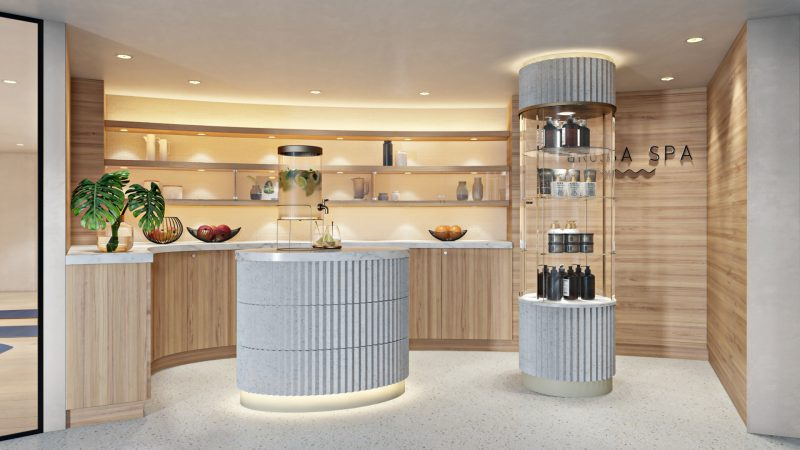 A-ROSA unveils extensive spa offering on A-ROSA SENA self service area