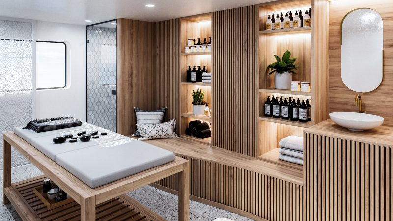 A-ROSA unveils extensive spa offering on A-ROSA SENA treatment room