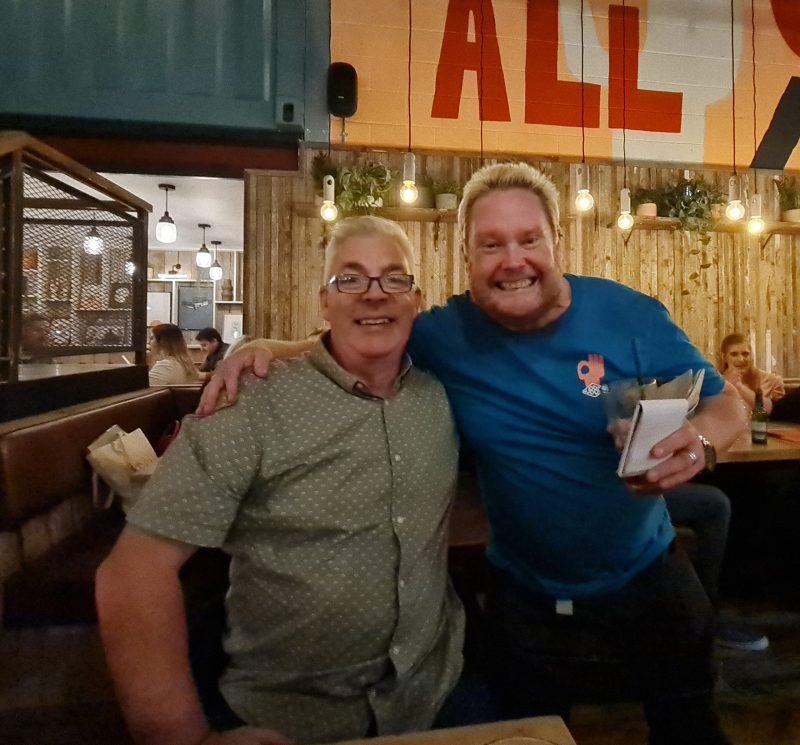 Hub Box Cheltenham Restaurant Review Brewery Quarter Paul and Carole Love to Travel